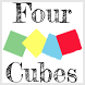 Four Cubes by Carlo Lollo