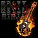 Heavy Metal Ninja by yamato