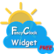 FancyClock Widget Free by SatomWare