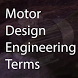 Motor Design Engineering Terms by mxym.studio
