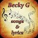 Becky G Songs&Lyrics by ViksAppsLab