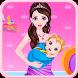 Princess Give Birth a Baby by Titan Media