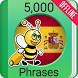 Learn Spanish - 5,000 Phrases by Fun Easy Learn