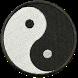Ying Yang Patch Sticker Widget by yammonster