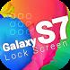 S7 Galaxy Lock Screen by ZenkiMedia