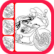 Learn to Draw Motorcycle by Khaizaa Apps