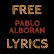 Free Lyrics for Pablo Alboran by Saree Dev