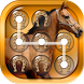 Horse Pattern Lock Screen by Cicmilic Soft