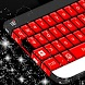 Red Ruby Keyboard Skin by T-Me Themes
