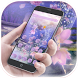 Purple Butterfly Wizard theme by Utone Theme