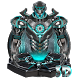 3d neon iron hero theme by 3dthemecoollauncher