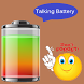 Real Talking Battery Widget by Droid Cook