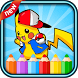 coloring game of pokemo monsters by coloring world for kids