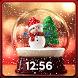 Christmas Snow Globe Wallpaper App
