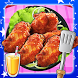 Deep Fry Chicken Wings Maker by Smile Stones Studio