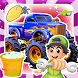 Monster truck Wash & Repair by Smile Stones Studio