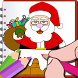 Kids Christmas Coloring Book by More Fun Games For Kids