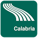 Calabria Map offline by iniCall.com