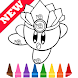 Learn Draw Coloring for Kirbу by Fans by Learn Draw Coloring Camps