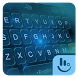 Blue Tech Hologram Keyboard Theme by Love Free Themes