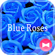 Cool Wallpaper Blue Roses by +HOME by Ateam