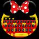 Cute Micky Bow keyboard Theme by Keyboard Theme Creator