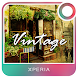 XPERIA™ THEME Vintage Time by The X-Themer