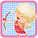 Cupid Lover Sliding Puzzle by Rumahan Studio