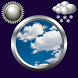 Sky Clock And Weather Widget by Compass Clock and Weather