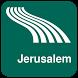 Jerusalem Map offline by iniCall.com