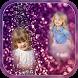 Transparent Glitter Photo Frames - Multiple Photos