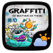 Graffiti GO Weather Widget by GOMO Go