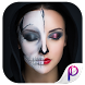 Scary Halloween Face Makeup Photo Editor by PicEditor