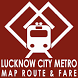 Route and Fare for Lko Metro by Arbaz Alam