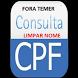 Consultar cpf limpar nome sujo consulta nome sujo by VixTapps
