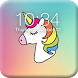 Pony Unicorn Lock Screen by Platinum Narrative