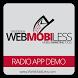 Radio Demo Application by OrozDesign