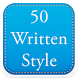 50 Written Fonts Style by Fancy Font For U