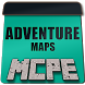 Adventure maps for mcpe by Top Minecraft Maps