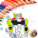 Coloring book for transformer by Chalse Marlosh