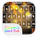 Emoji Keyboard - Black Gold by WaterwaveCenter