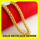 Gold Necklace Design by Tatadroid