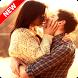 Couple Kiss Wallpaper by Pinza