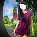 Girl Short Dress Photo Montage by Super Photo Montages