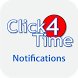 Notifications - Click4Time by Click4Time Software Inc.
