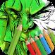 Comics Heroes Coloring book by Craziiztan