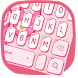 Pink Keyboard Theme by Super Themes HD