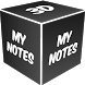 3D My Notes Live Wallpaper by My Name Cube Apps
