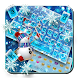 Ice Beauty Winter Ray by Launcher and Keyboard Theme Design