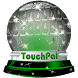 Greenish galaxy Keypad Design by Keyboard Emoji Themes